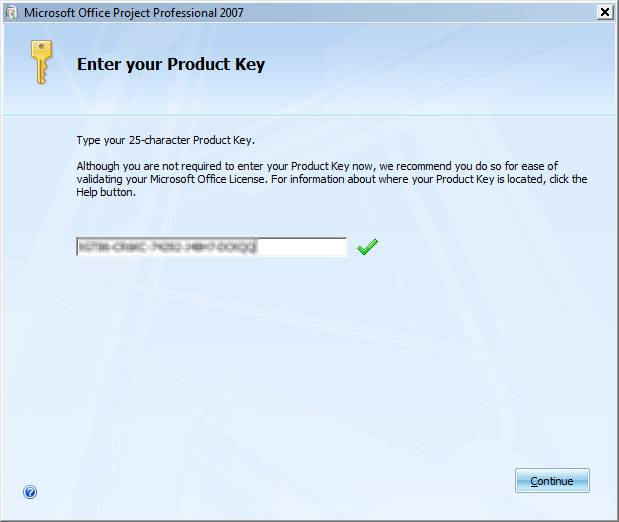 microsoft project professional 2010 with product key