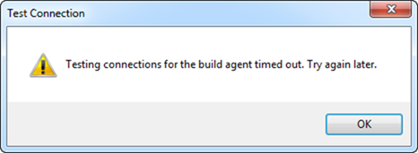 "TFS2010 Build Agent Cannot Talk to Controller: ""There was no"