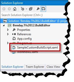 Edit & Compile Team Foundation Server 2012 (TFS2012) Builds