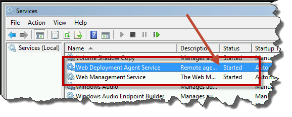 Fix: ASP NET Web Deploy 'ERROR COULD NOT CONNECT TO