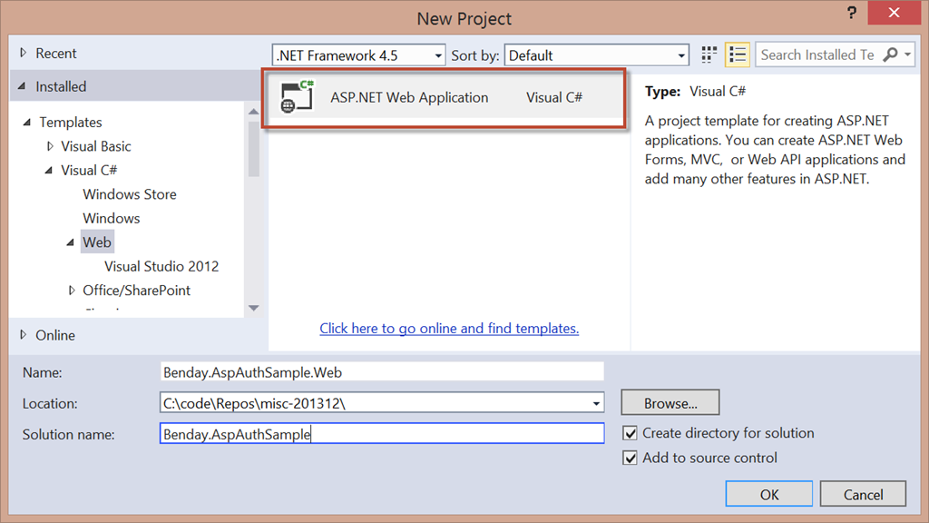 Walkthrough: ASP NET MVC Identity with Microsoft Account