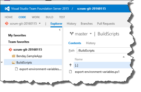 Learn to Customize TFS2015 Build with Environment Variables