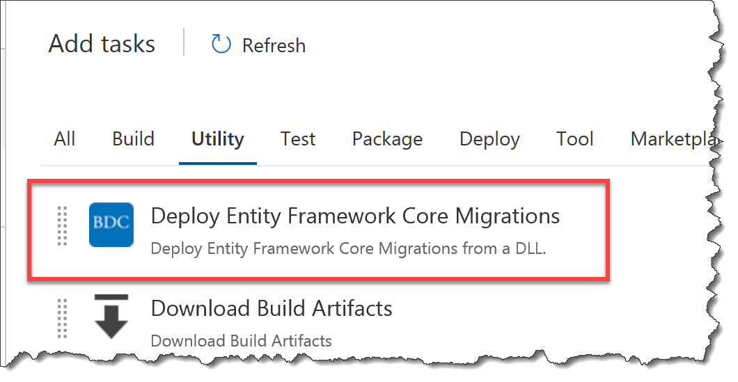 Deploy Entity Framework Core 2 1 Migrations from a DLL